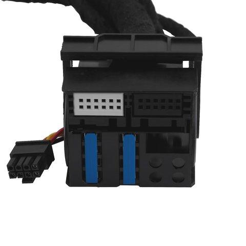 Адаптер подключения камеры заднего и переднего вида для Mercedes-Benz с системой NTG4.5 Превью 4