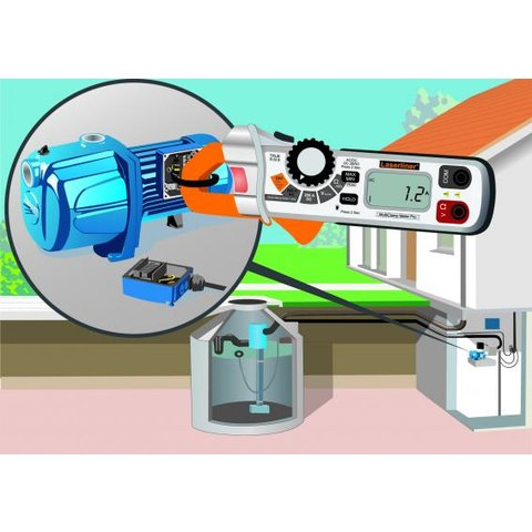 Струмовимірювальні кліщі Laserliner MultiClamp-Meter Pro Прев'ю 2