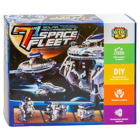 Космический флот 7 в 1, конструктор CIC 21-641 Превью 10