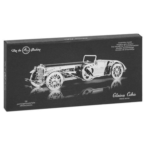 Металический механический 3D-пазл Time4Machine Glorious Cabrio Превью 12