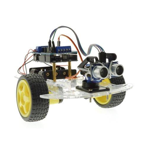 Конструктор Arduino Робомашинка з давачем (датчиком) для оминання перешкод + посібник користувача Прев'ю 3