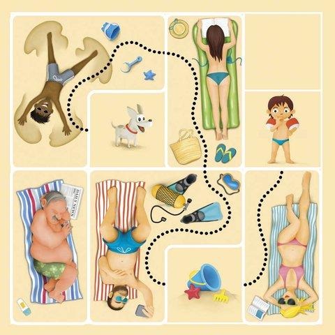 Головоломка Smart Games Пляжные приключения, Дорожная магнитная игра Превью 2