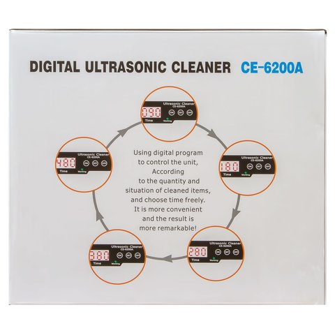 Ultrasonic Cleaner Jeken CE-6200A Preview 11